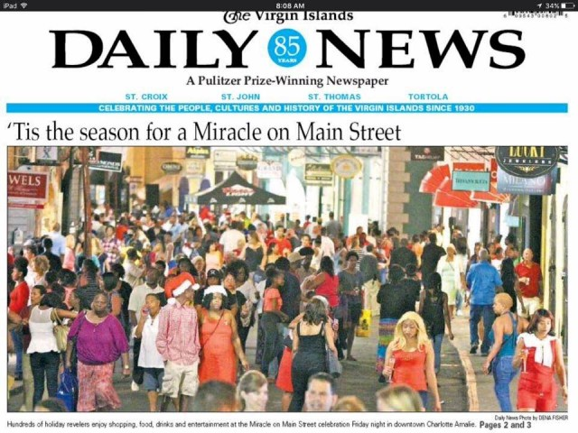 Travel with Africah makes the front page!